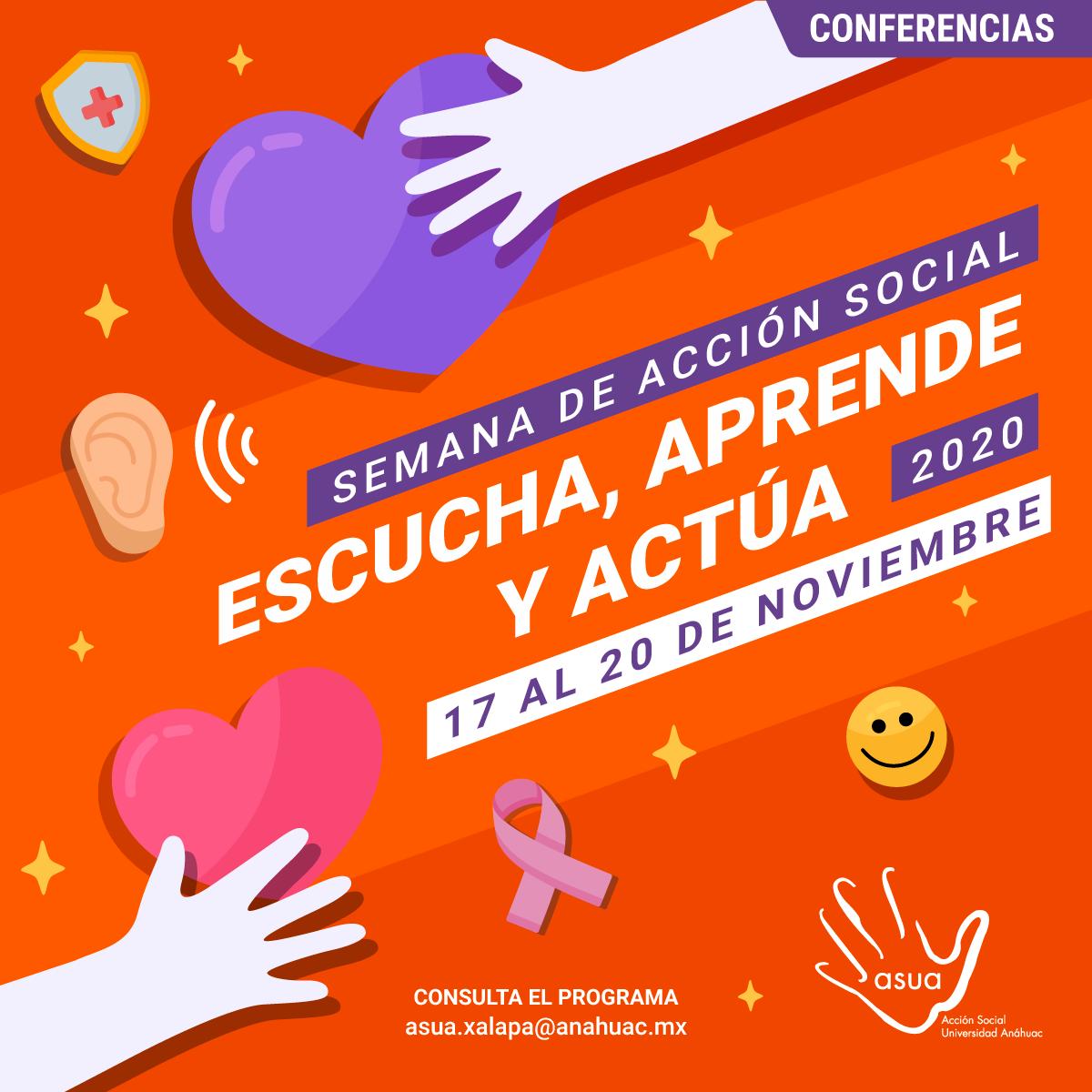 Semana de Acción Social: Escucha, Aprende y Actúa