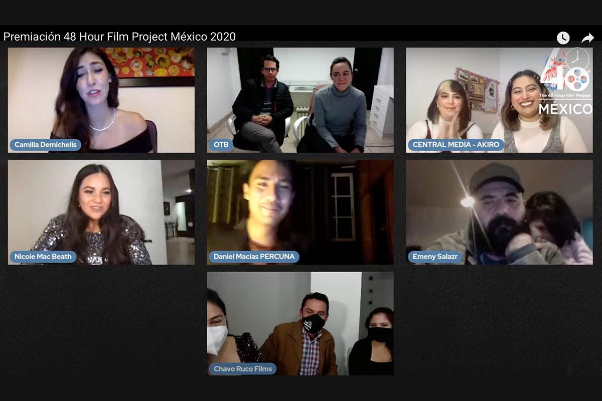 Destacada Participación de Alumnos de Comunicación y Entretenimiento en The 48 Hour Film Project México