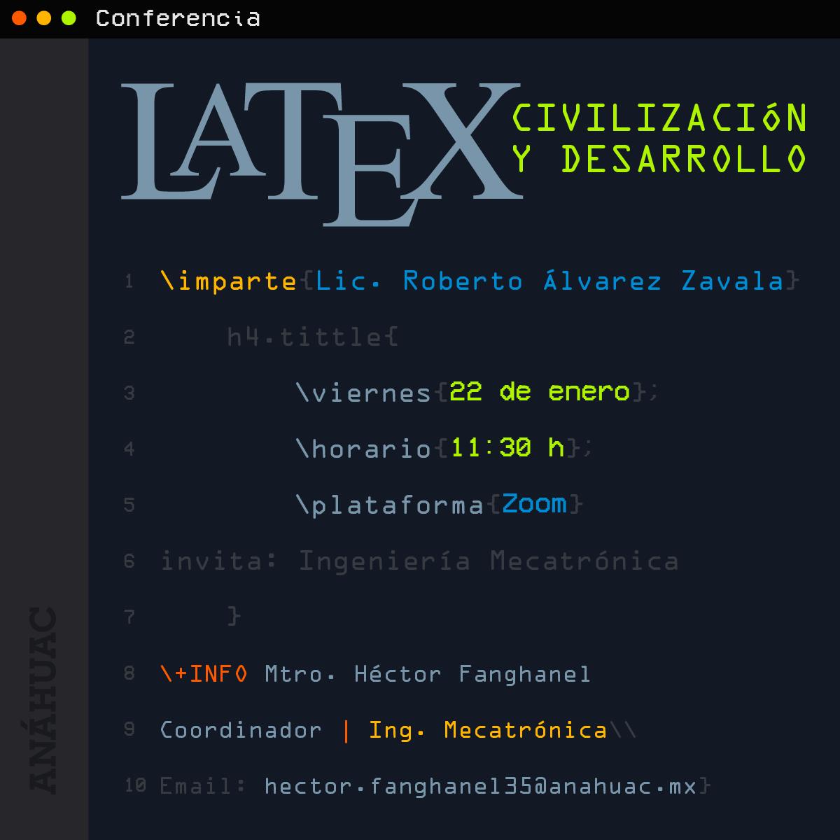 LaTeX: Civilización y Desarrollo