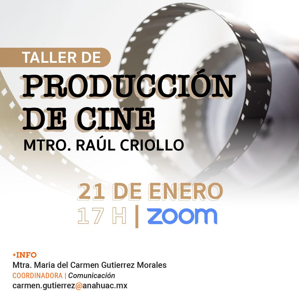 Taller de Producción de Cine