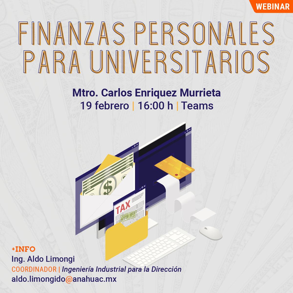 Finanzas Personales para Universitarios
