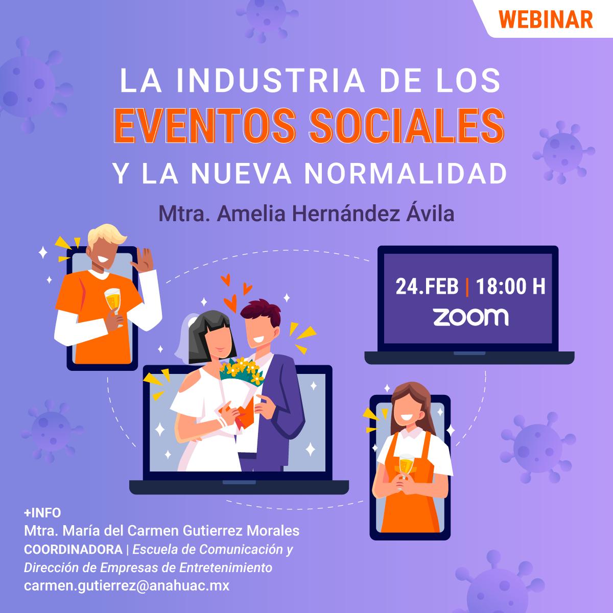 La Industria de los Eventos Sociales y la Nueva Normalidad