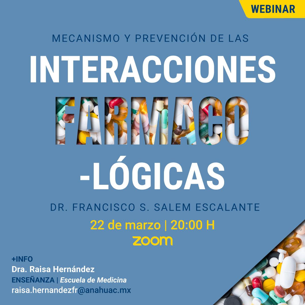 Mecanismo y Prevención de las Interacciones Farmacológicas