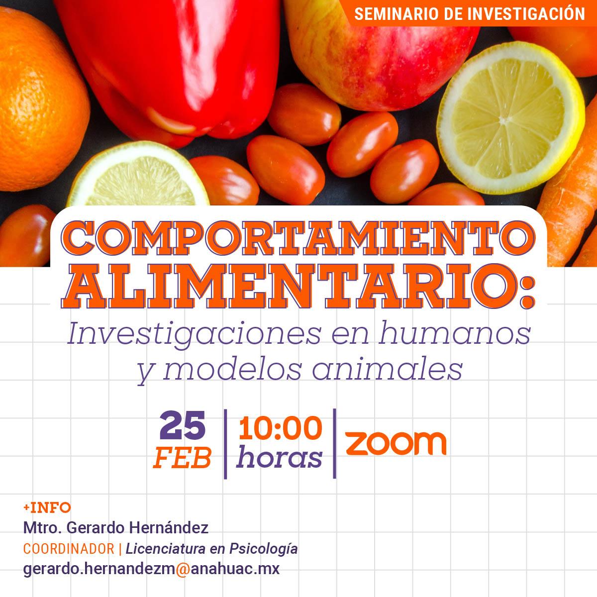 Comportamiento Alimentario: Investigaciones en Humanos y Modelos Animales