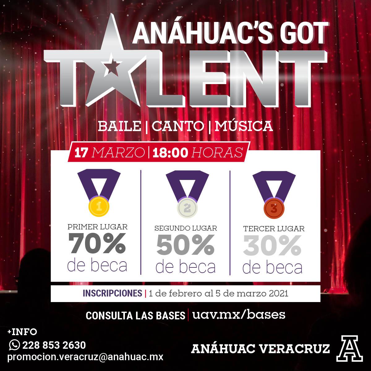Anáhuac's Got Talent