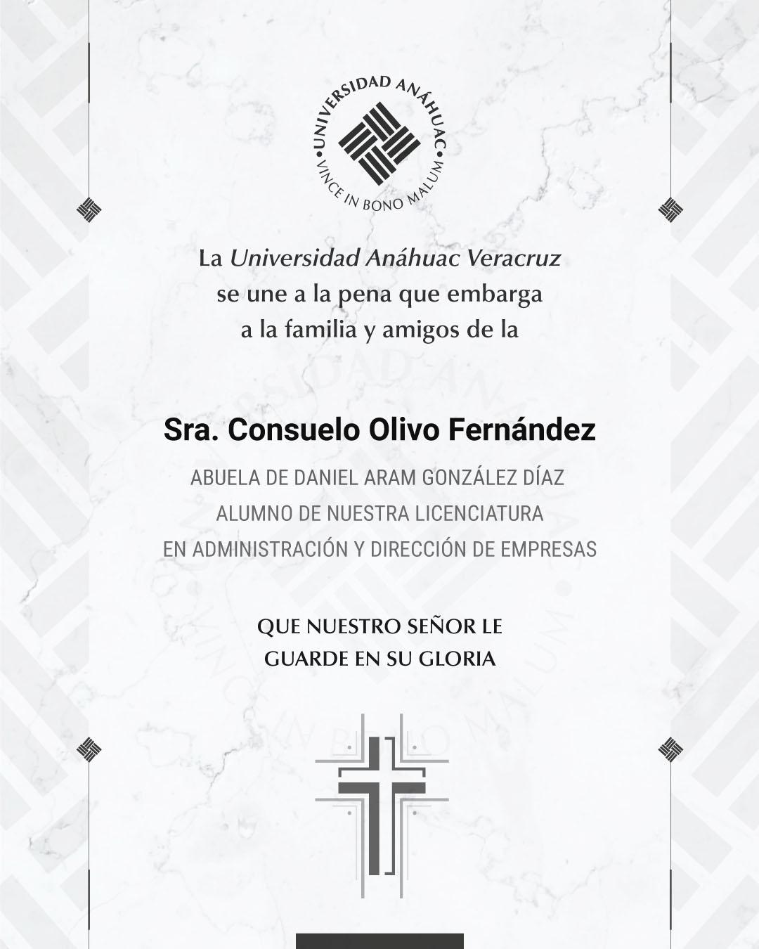 Sra. Consuelo Olivo Fernández