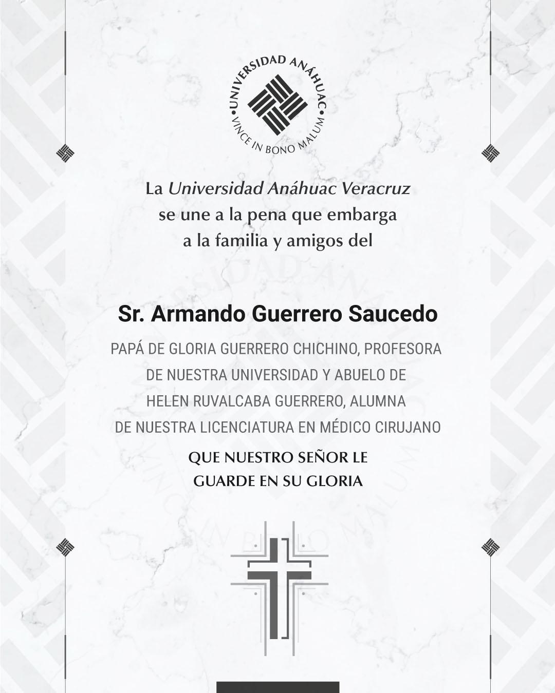 Sr. Armando Guerrero Saucedo