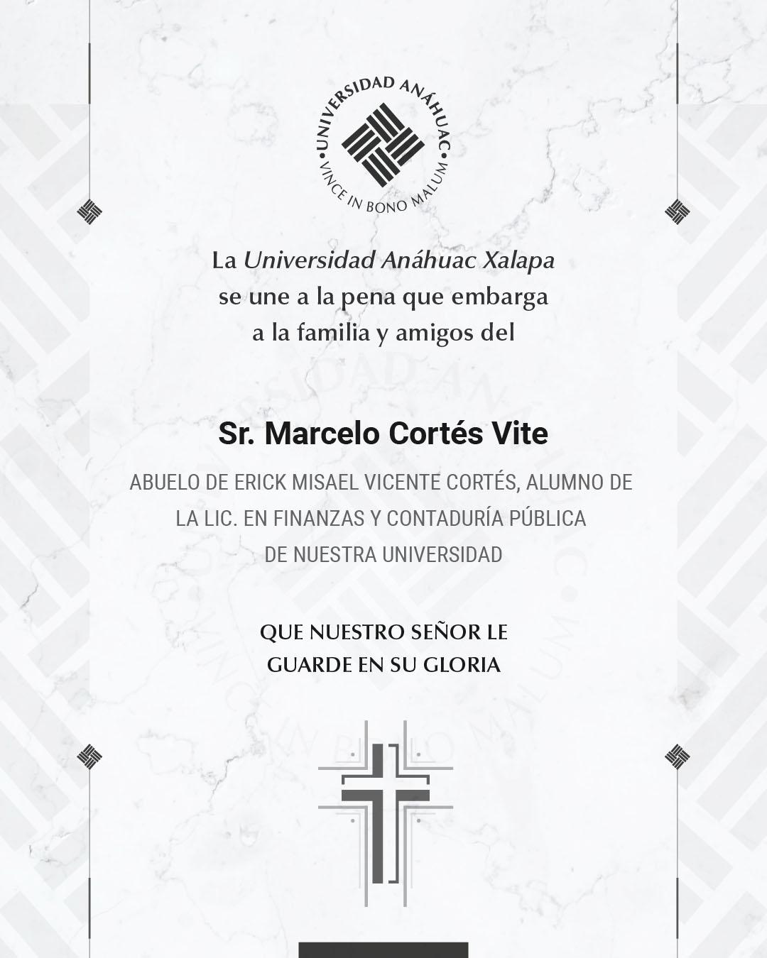Sr. Marcelo Cortés Vite