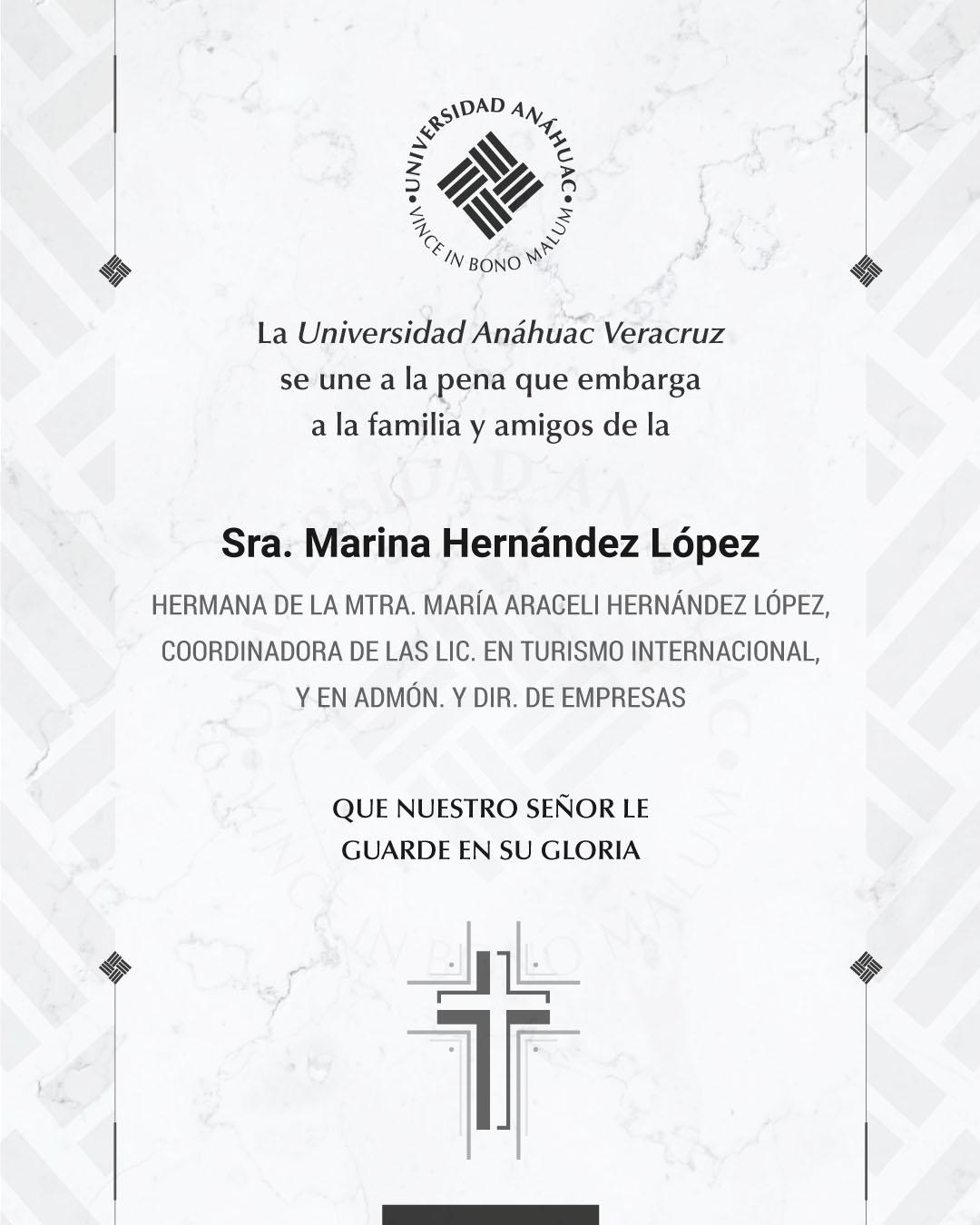 Sra. Marina Hernández López