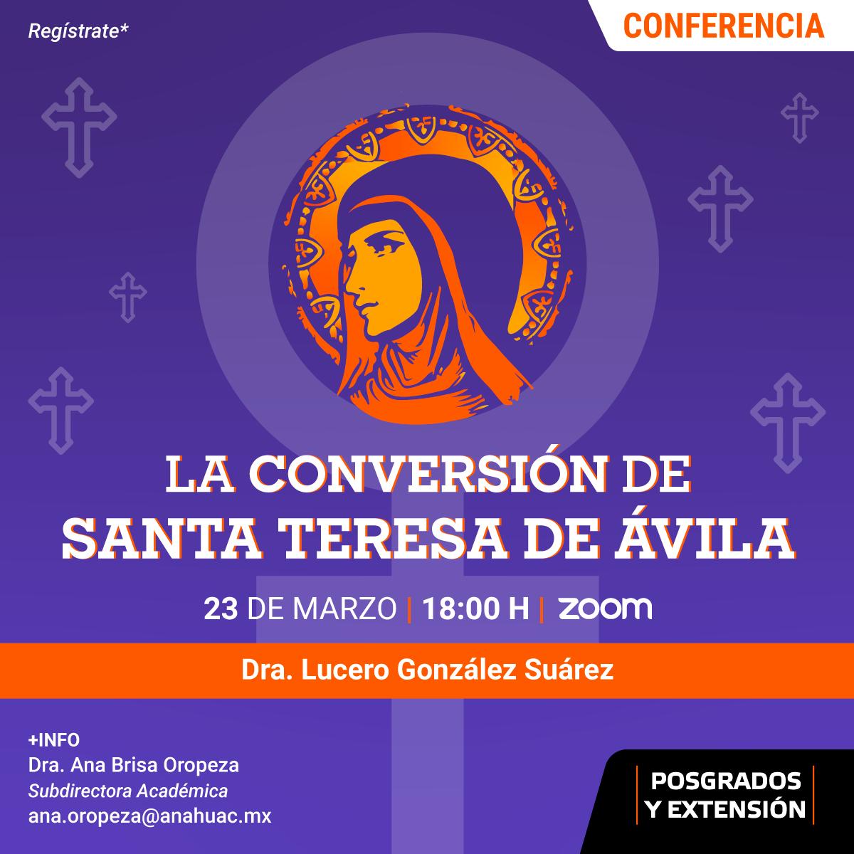 La Conversión de Santa Teresa de Ávila