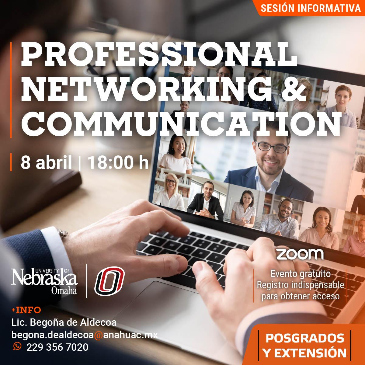 Curso Internacional: Professional Networking & Communication