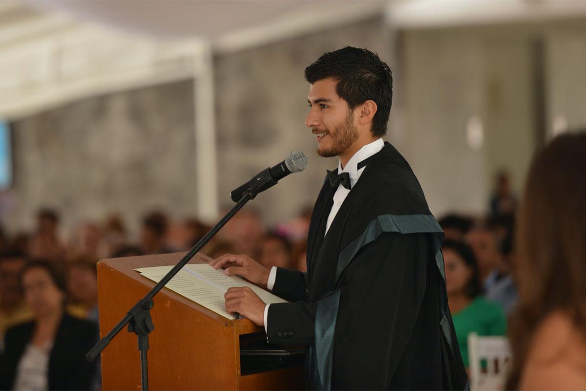1 / 10 - 2014, ceremonia de conferimiento de grado, Universidad Anáhuac Xalapa.