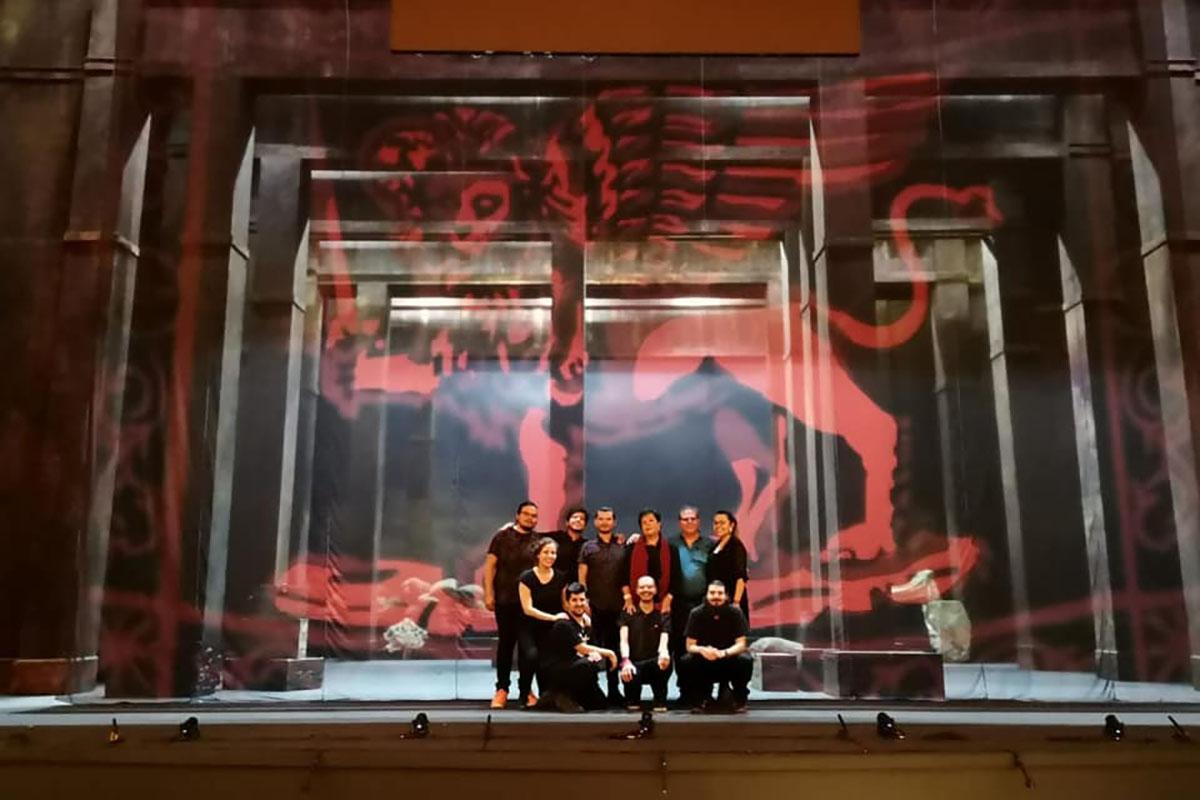 9 / 10 - Agosto 2019, Otello en Bellas Artes.