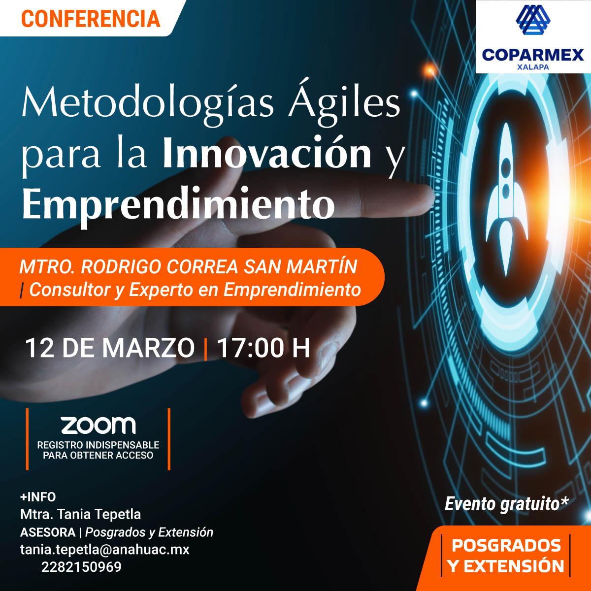 Metodologías Ágiles para la Innovación y Emprendimiento