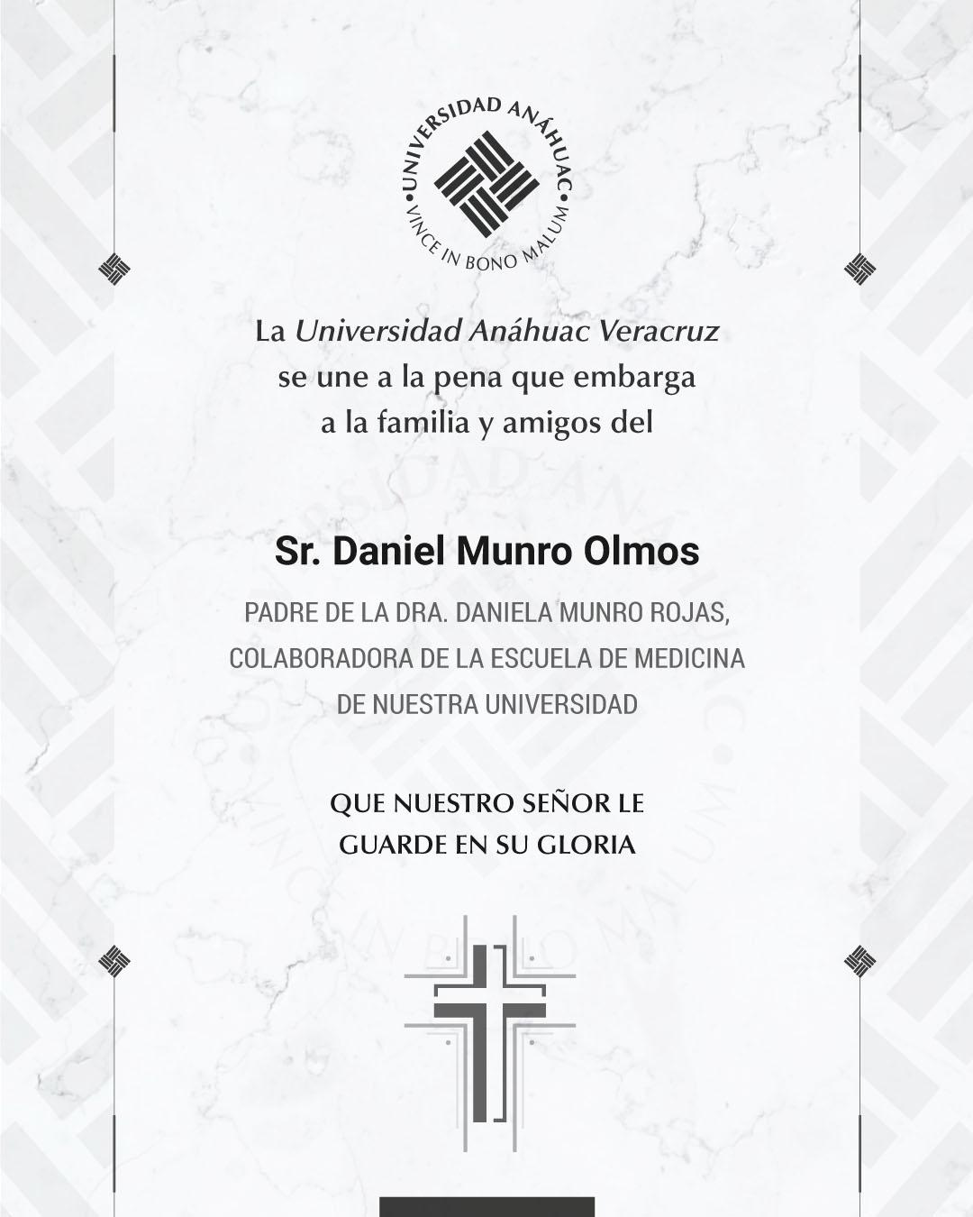 Sr. Daniel Munro Olmos