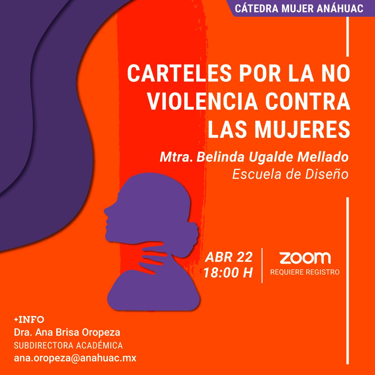 Carteles por la No Violencia Contra las Mujeres