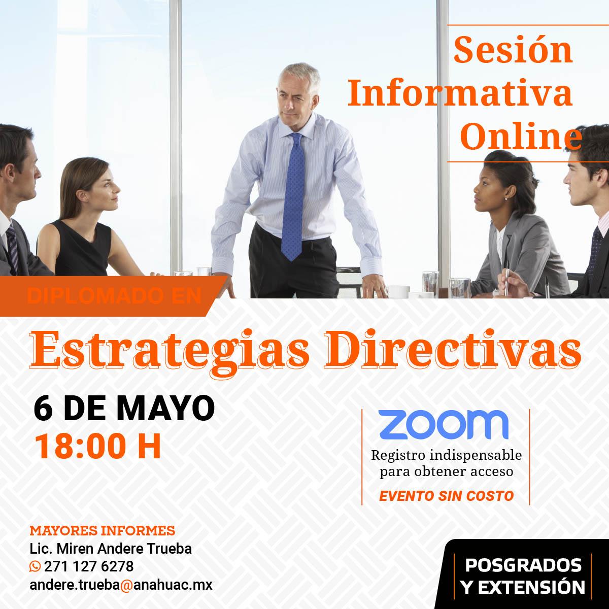Sesión Informativa Online