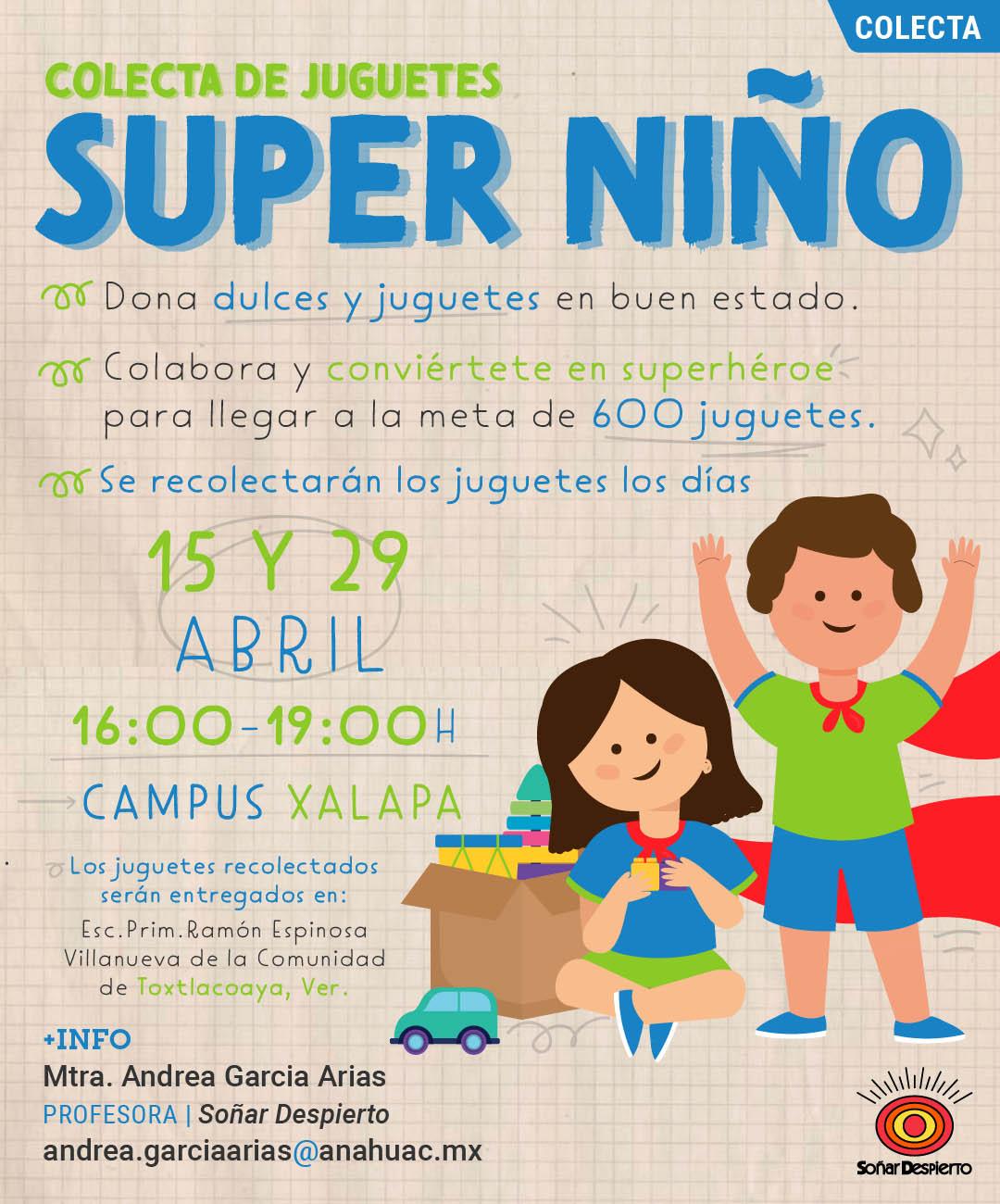 Super Niño: Colecta de Juguetes