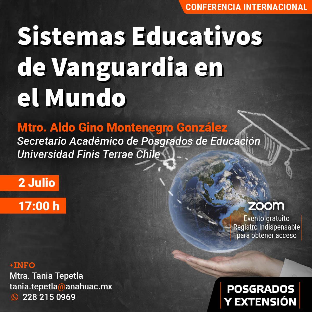 Sistemas Educativos de Vanguardia en el Mundo