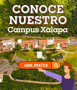 Recorrido 360° del Campus Xalapa