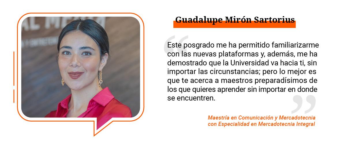 1 / 4 - Guadalupe Mirón Sartorius