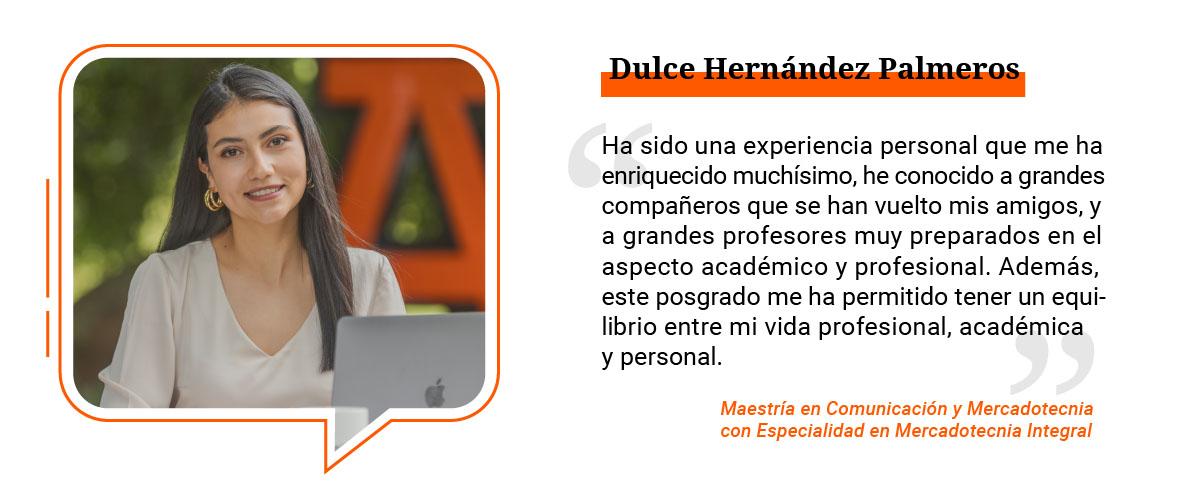 2 / 4 - Dulce Hernández Palmeros