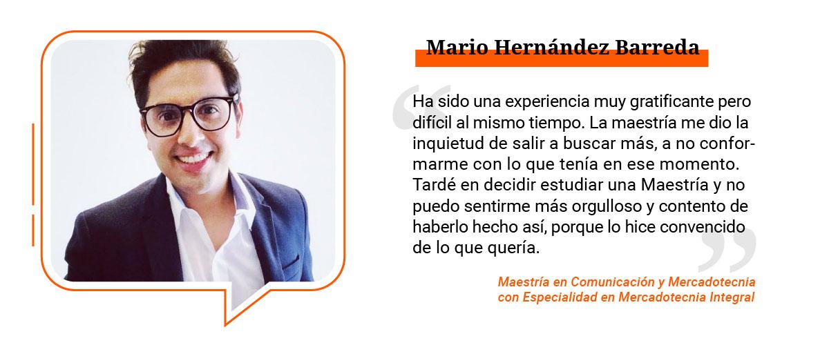 3 / 4 - Mario Hernández Barreda
