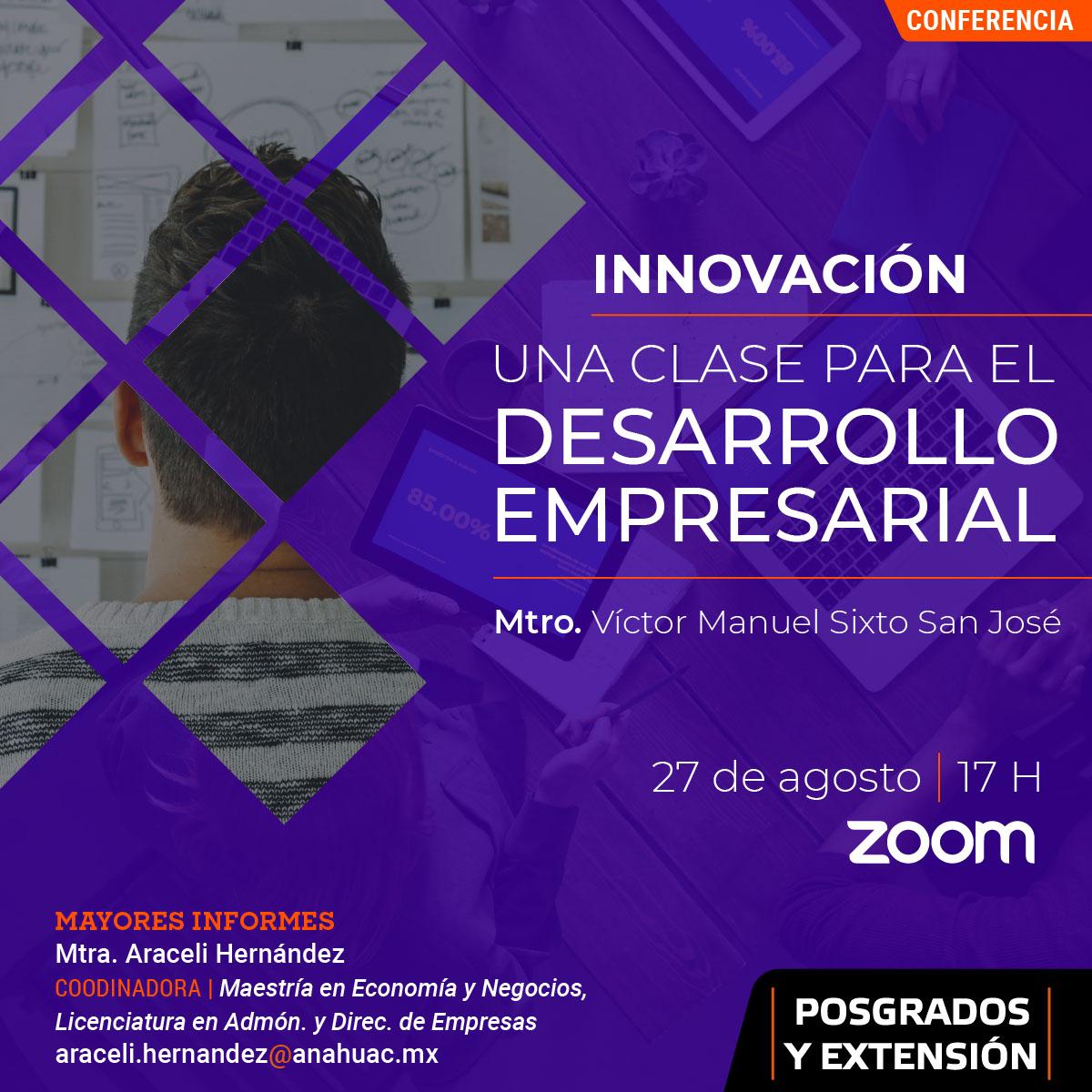 Innovación: Una Clase para el Desarrollo Empresarial