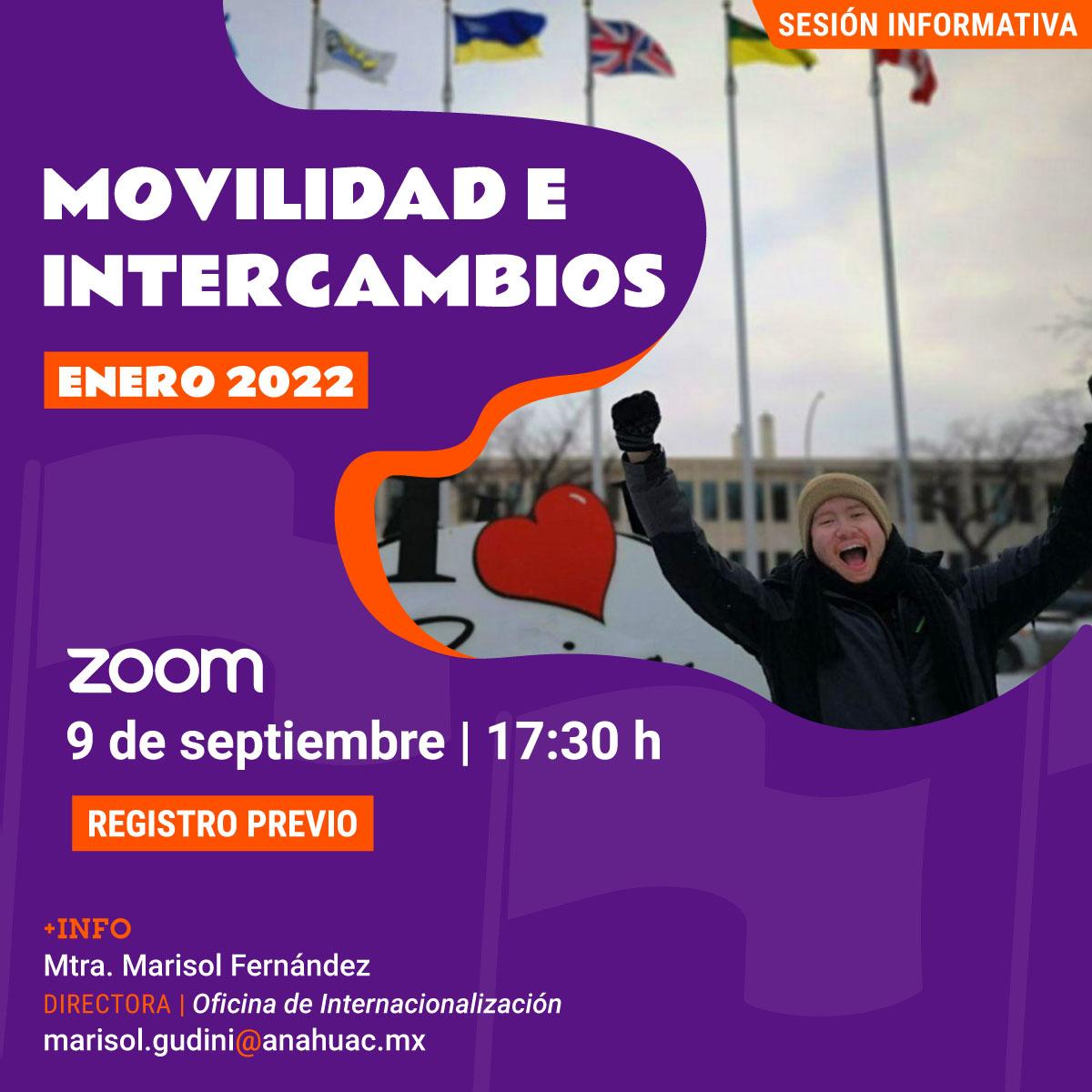 Movilidad e Intercambios 2022