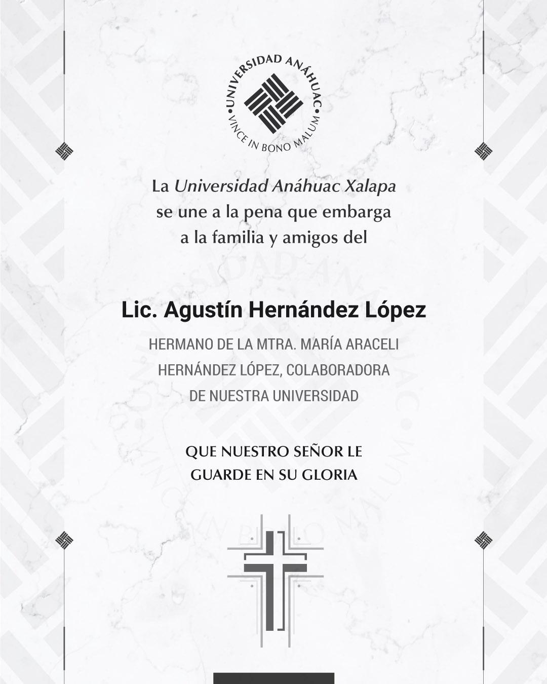 1 / 14 - Lic. Agustín Hernández López