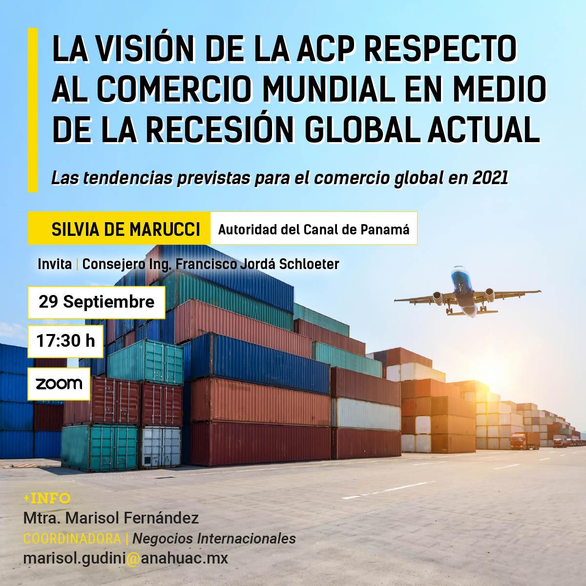 La Visión de la ACP Respecto al Comercio Mundial en Medio de la Recesión Global Actual