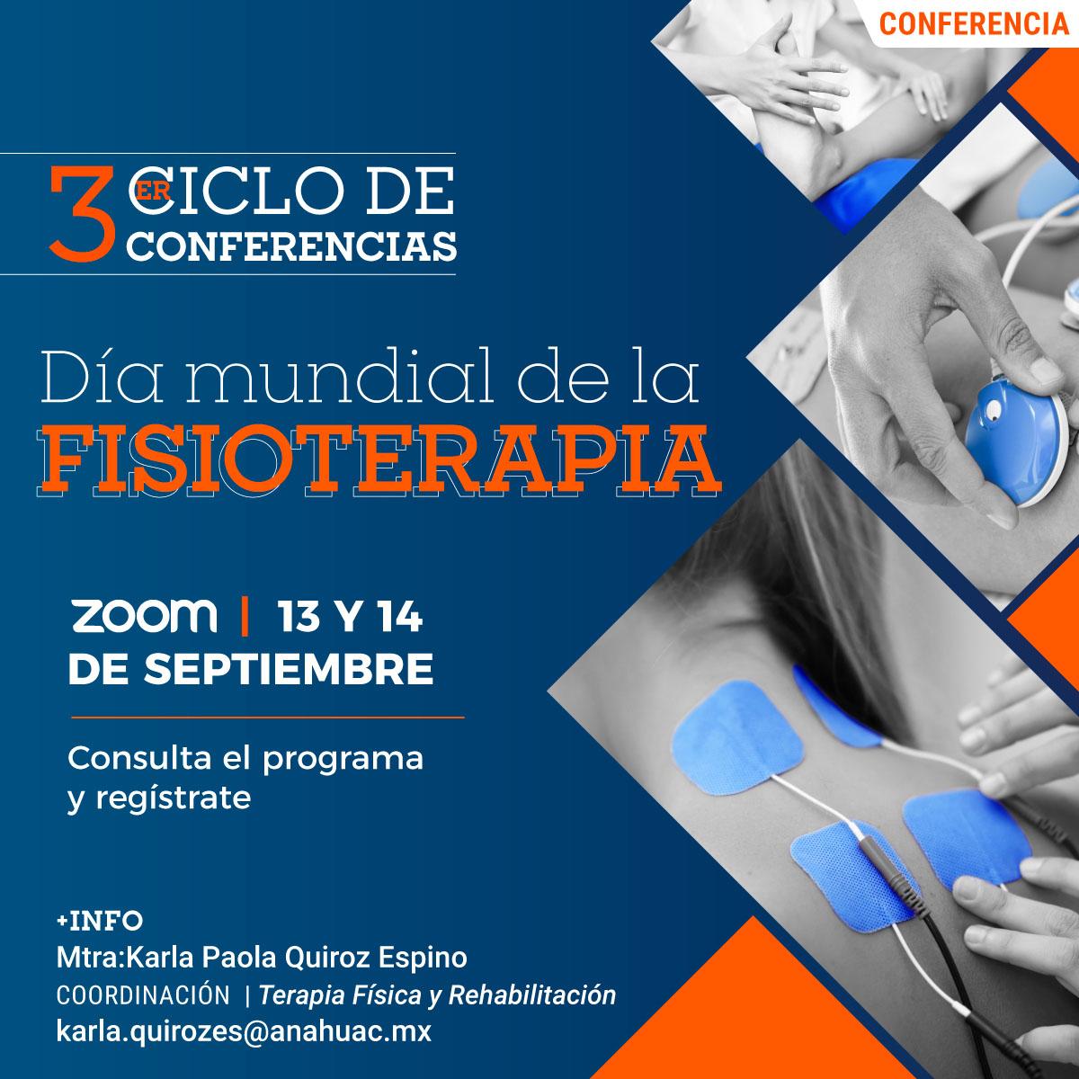 3.er Ciclo de Conferencias Día Mundial de la Fisioterapia