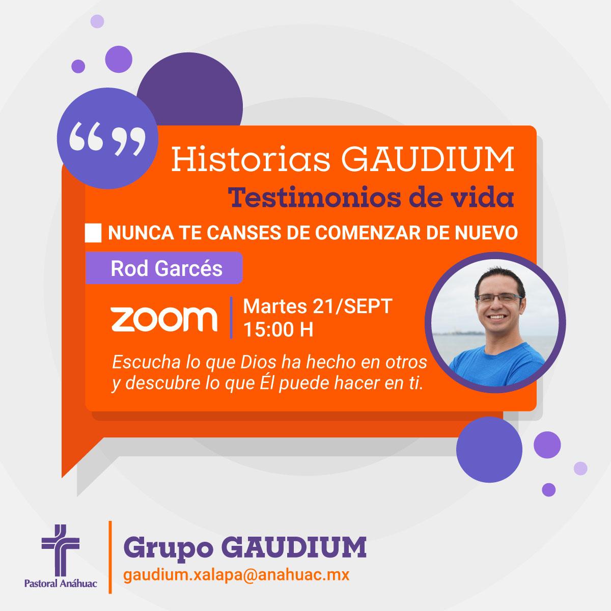 Historias Gaudium: Testimonios de Vida