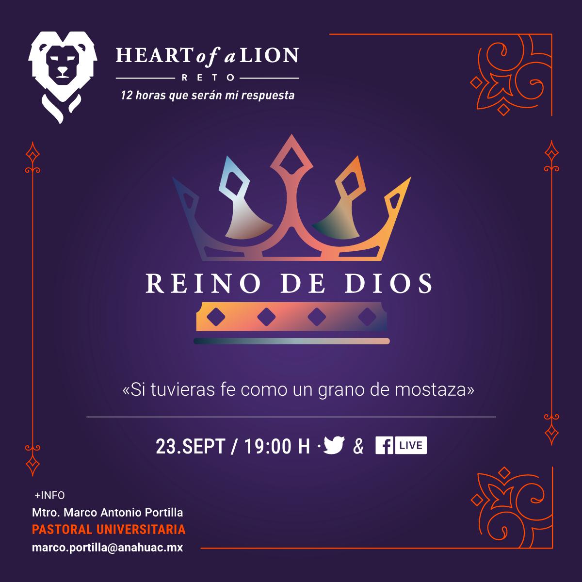 Heart of a Lion: Reino de Dios
