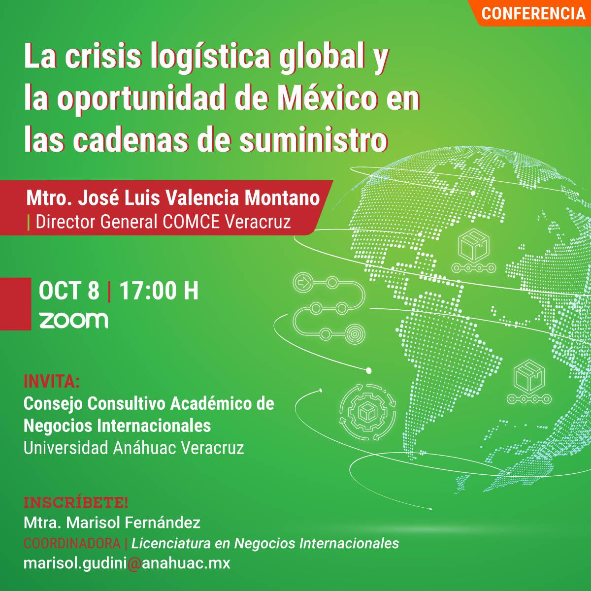La Crisis Logística Global y la Oportunidad de México en las Cadenas de Suministro