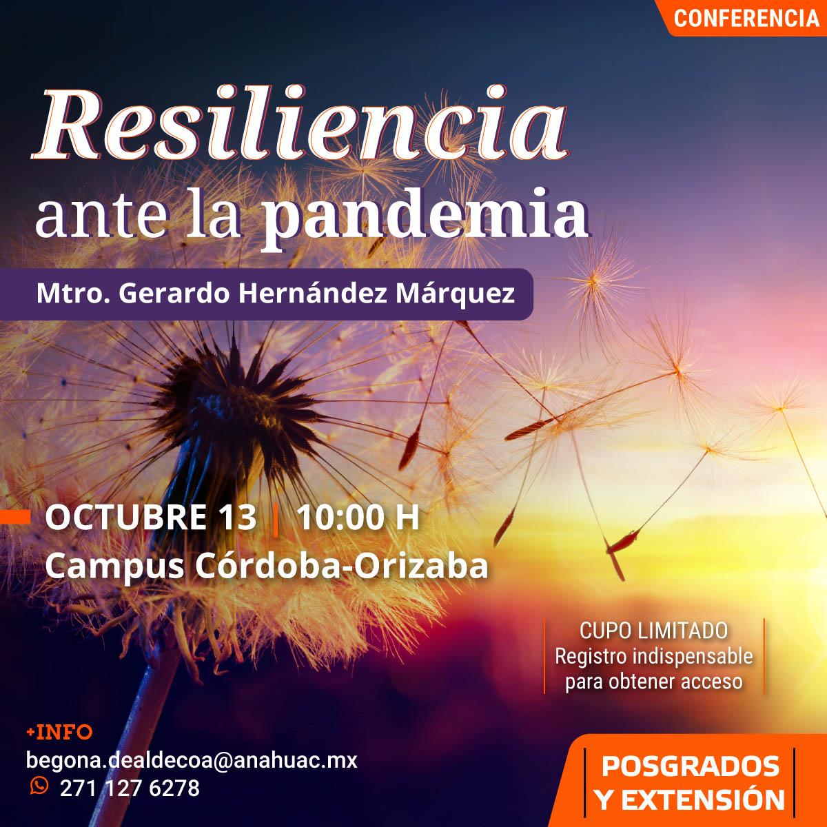 Resiliencia Ante la Pandemia