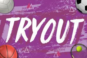 Tryouts para Fútbol, Voleibol, Tenis y Basquetbol