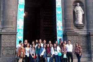 Arquitectura y Diseño Gráfico visitan el Museo Internacional del Barroco