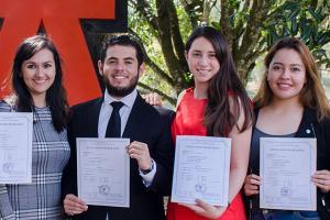 Entrega de Certificados Internacionales de Lengua Francesa
