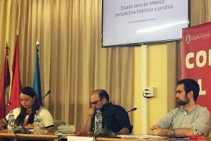 Alumna de Derecho participa en Jornadas Académicas de la Universidad Complutense