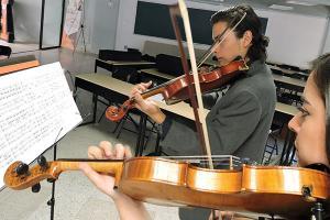 Ensamble Clásico Anáhuac en la entrega de Premios Lux et Veritas