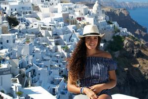 Exitoso intercambio de alumna de Mercadotecnia en Roma