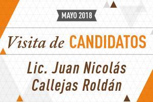 Visita de Candidatos: Elecciones 2018