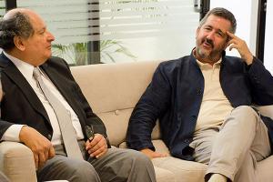 Visita del Arq. Roberto Goycoolea de la Universidad de Alcalá de Henares