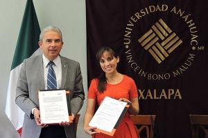 Se firma convenio con Rotoplas, empresa internacional de origen mexicano