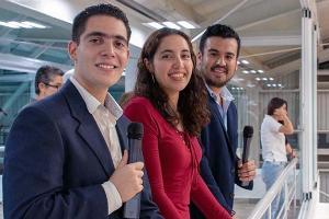 Alumnos de la Escuela de Comunicación transmiten en vivo los partidos de ABE