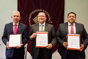 Firma de Convenio de Colaboración con el ISSSTE
