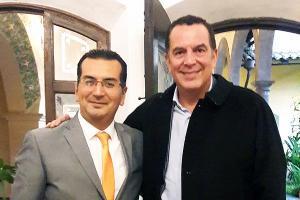 Reunión con el nuevo Secretario de Desarrollo Económico y Portuario de Veracruz