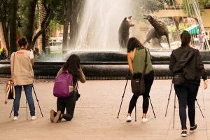 Viaje de prácticas del Taller de Fotografía a CDMX