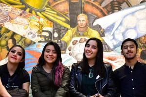 Viaje de aprendizaje de Alumnos de Comunicación a la CDMX